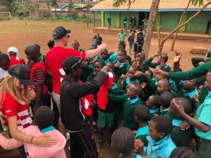 Grit CSR – Cricket Coaching Session in Kenya