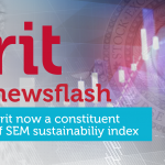 Newsflash - Now a Constituent of SEM sustainability index