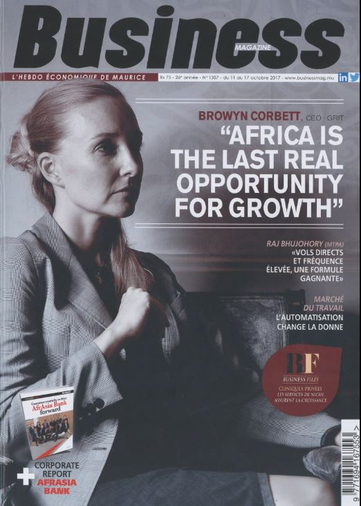 Business Magazine - Bronwyn Corbett 2017