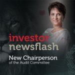 Investor Newsflash - New Chairperson