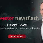Investor Newsflash - David Love Joins the Board