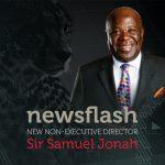 Newsflash - New Non-Executive Director