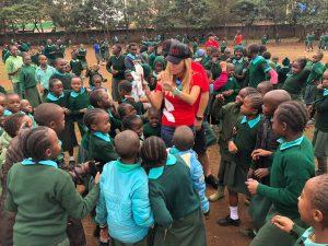 Grit CSR – Cricket Coaching Session in Kenya