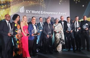 Bronwyn Corbett wins 2019 EY World Entrepreneur Award- Southern Africa (Exceptional Category)