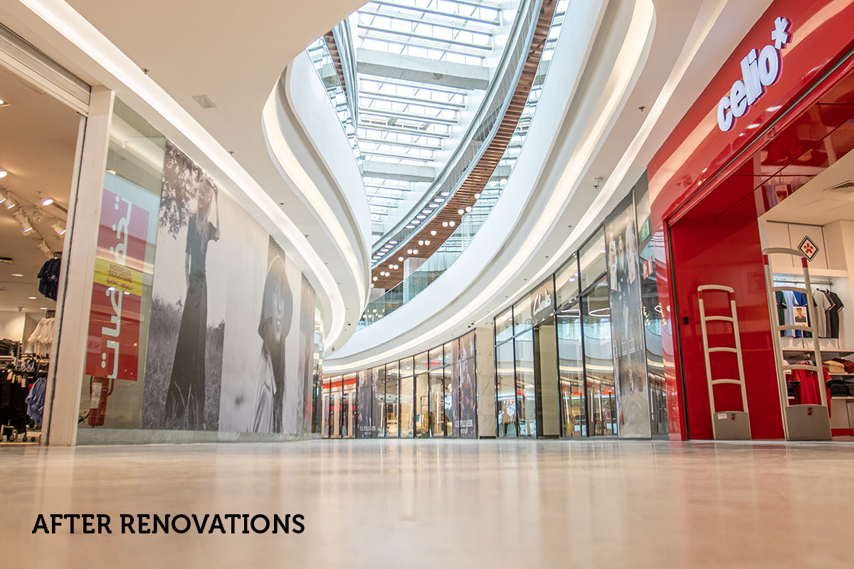 Morocco Case Study - AnfaPlace Mall Renovations